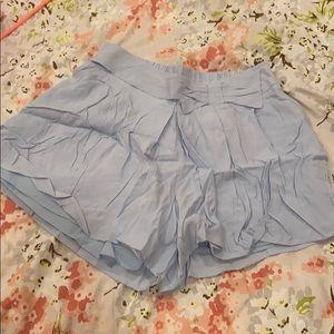 Lauren Conrad Baby Blue Bow Shorts